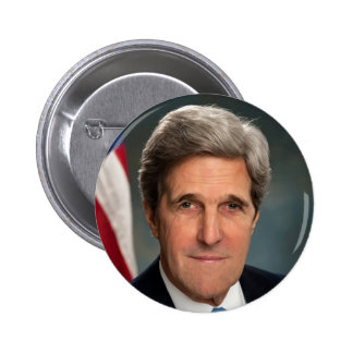 John Kerry 6 Cm Round Badge