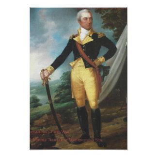 John Laurens Full-Length Portrait Poster