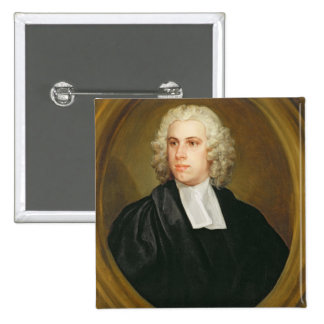 John Lloyd, Curate of St. Mildred's, Broad Street, 15 Cm Square Badge