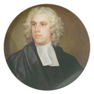 John Lloyd, Curate of St. Mildred's, Broad Street, Dinner Plates