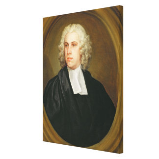 John Lloyd, Curate of St. Mildred's, Broad Street, Stretched Canvas Print