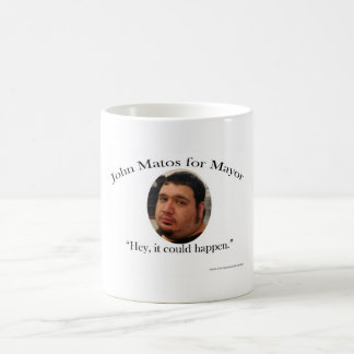 John Matos for Mayor Coffee Mug