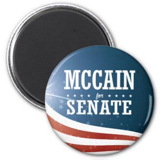 John McCain 2016 6 Cm Round Magnet
