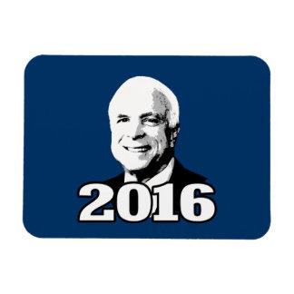 JOHN MCCAIN 2016 CANDIDATE RECTANGULAR MAGNET