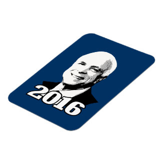 JOHN MCCAIN 2016 CANDIDATE RECTANGLE MAGNET