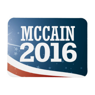 John McCain 2016 Rectangular Photo Magnet