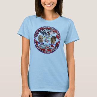 John McCain and Sarah Palin T-Shirt