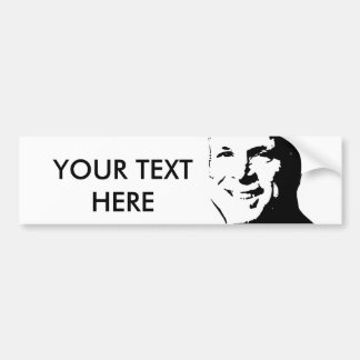 John McCain Bumper Sticker / Custom Text