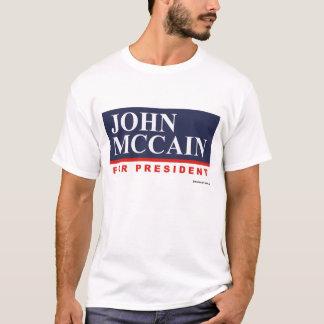 John McCain for President T-shirt