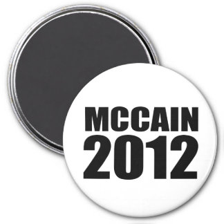 John McCain in 2012 Refrigerator Magnet