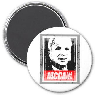 JOHN MCCAIN INK BLOCK.png Fridge Magnet