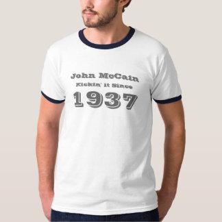 John McCain, Kickin' it Since 1937 T-Shirt