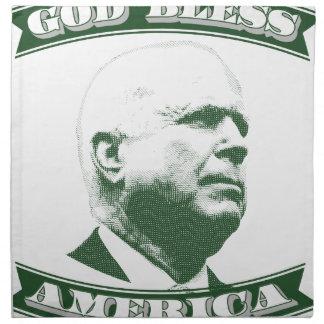 John McCain Napkin