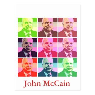 John McCain Postcard