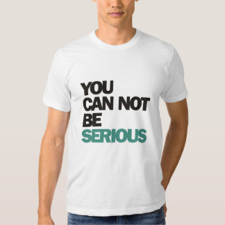 John McEnroe : You Can Not Be Serious T-shirt