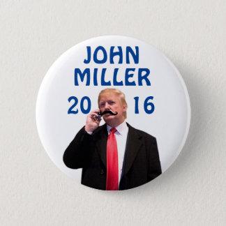 John Miller 2016 6 Cm Round Badge