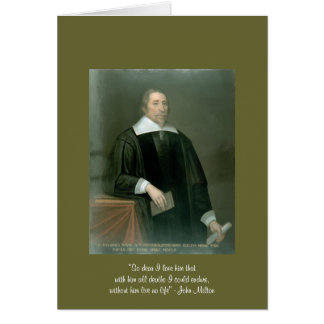 "John Milton ""So Dear"" Quote On Womens Lace Up Shoe Greeting Card"