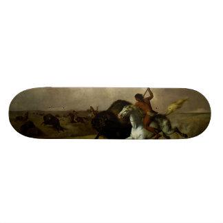 John Mix Stanley - Buffalo Hunt on the Southwester Skateboard