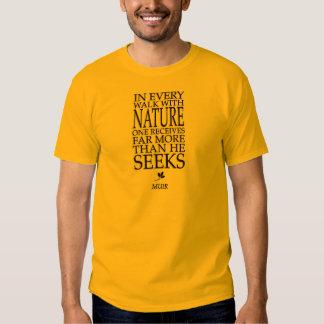 John Muir Tshirts