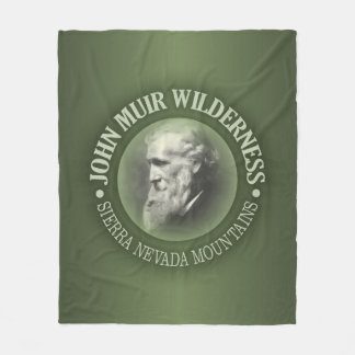 John Muir Wilderness Fleece Blanket