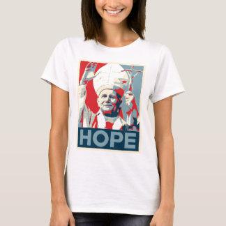 John Paul II Hope Ladies T-Shirt