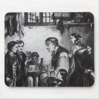John Pounds teaching children in his home Mouse Pad