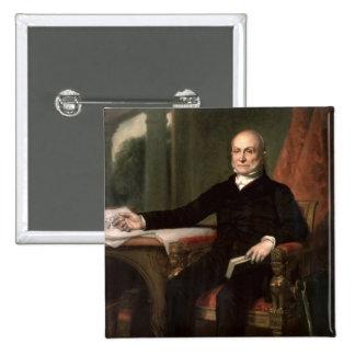 John Quincy Adams 15 Cm Square Badge
