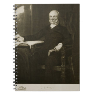 John Quincy Adams, 6th President of the United Sta Spiral Notebook