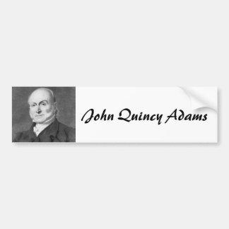 John Quincy Adams Bumper Sticker