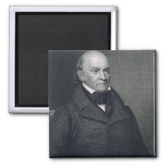 John Quincy Adams, engraved by John Wesley Paradis Square Magnet