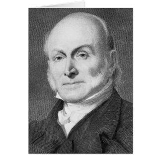 John Quincy Adams Greeting Card