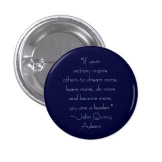 John Quincy Adams Leadership Quote Button