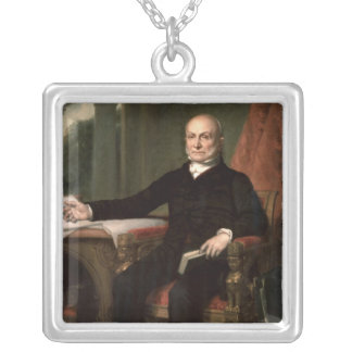 John Quincy Adams Personalized Necklace