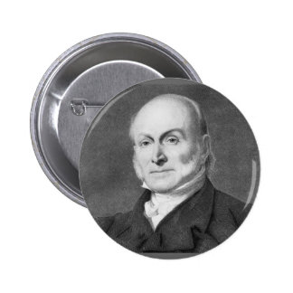 John Quincy Adams Pinback Button
