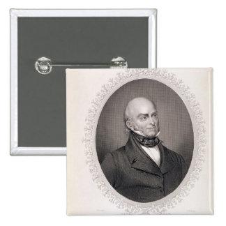 John Quincy Adams Pinback Buttons