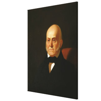JOHN QUINCY ADAMS Portrait by George Caleb Bingham Gallery Wrapped Canvas
