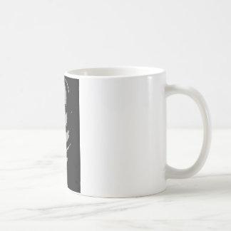 John Quincy Adams silhouette Mug