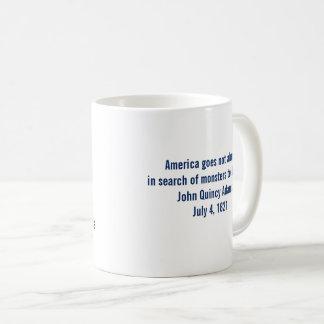 John Quincy Adams Society Monsters to Destroy Mug