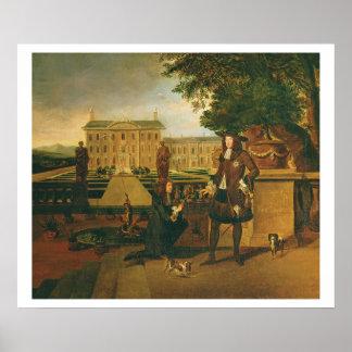 John Rose (c.1621-77) the King's Gardener, present Poster