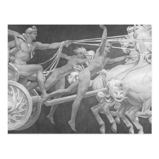 John Sargent- Apollo in His Chariot with the Hours Postcard