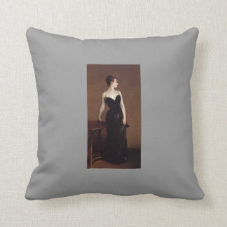 John Sargent- Madame Pierre Gautreau Throw Pillow