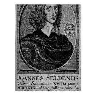 John Selden, 1672 Postcard