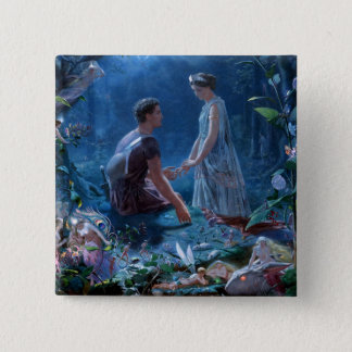 John Simmons: A Midsummer Night's Dream 15 Cm Square Badge