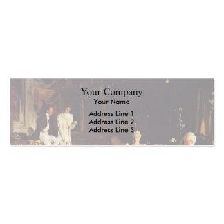 John Singer Sargent- An Interior in Venice Business Card Template