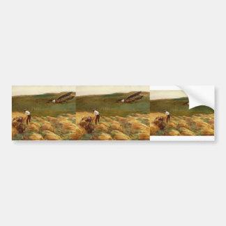 John Singer Sargent: Crashed Aeroplane Bumper Sticker