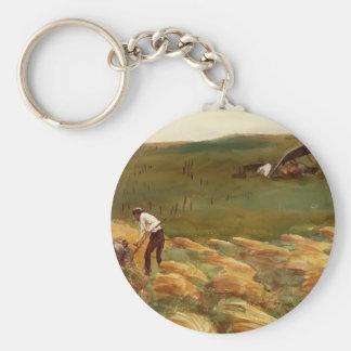 John Singer Sargent Crashed Aeroplane Keychain