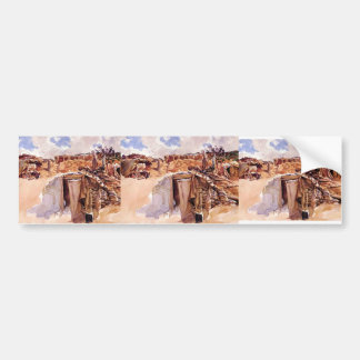 John Singer Sargent- Dugout Bumper Stickers