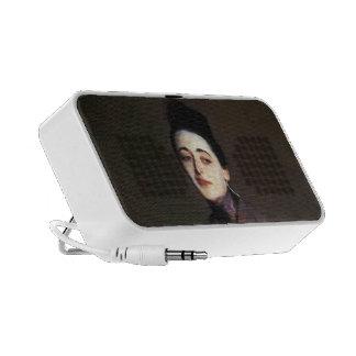 John Singer Sargent- Flora Priestley Laptop Speakers