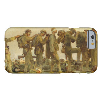 John Singer Sargent - Gassed Barely There iPhone 6 Case
