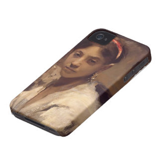 John Singer Sargent- Head of a Capri Girl iPhone 4 Covers